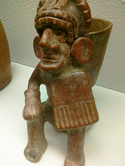 Abe Vigoda as Pre-Columbian artifact