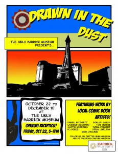 Drawn in the Dust flyer