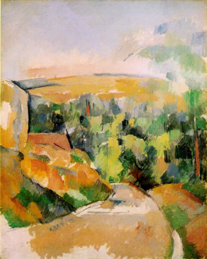 "Cezanne's ""Bend in the Road"""
